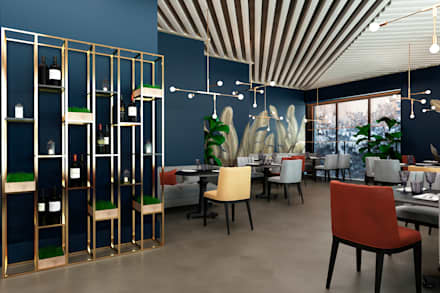 Bars & clubs by SK Interiors studio
