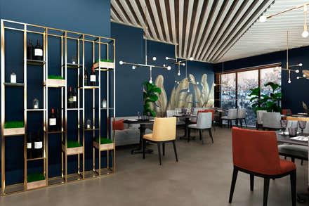 Bares y Clubs de estilo  por SK Interiors studio