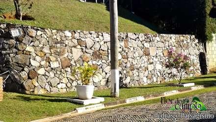 Walls by Flora Flor do Campo Pedras e Paisagismo