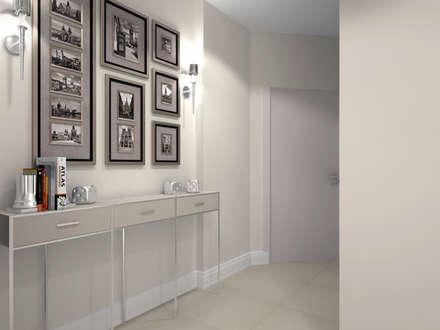 Зефирная квартира в Строгино: Коридор и прихожая в . Автор – KOSO DESIGN