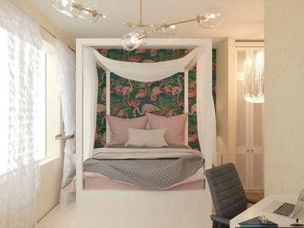 mediterranean Nursery/kid's room by KOSO DESIGN