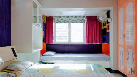 Urban Eclectic Home:  Girls Bedroom by designhood