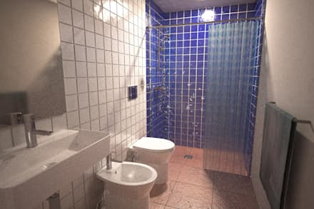 Monte da Dourada: Casas de banho campestres por André Pintão