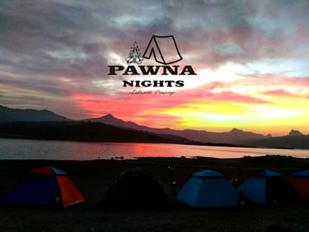 Front garden by Pawna Lake Camping | Pawna Nights