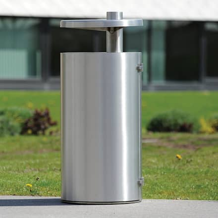 Street Bins:  Commercial Spaces by Lighting Design Solutions Limited