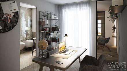 Anna Claudia Apartment : Studio in stile in stile Industriale di FRANCESCO CARDANO Interior designer