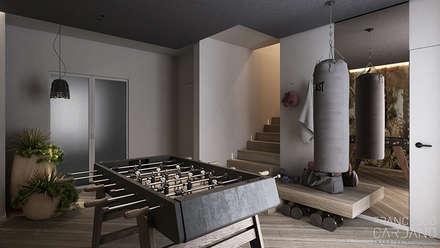 ห้องออกกำลังกาย by FRANCESCO CARDANO Interior designer