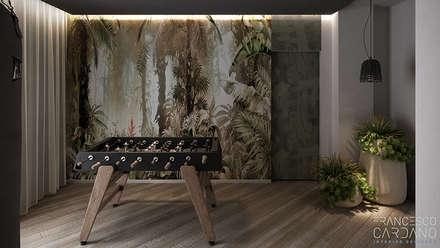 Тренажерные комнаты в . Автор – FRANCESCO CARDANO Interior designer