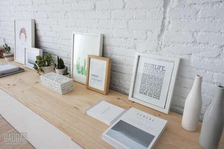 Casa Blanca: Comedores de estilo minimalista de Baobab Arquitectura