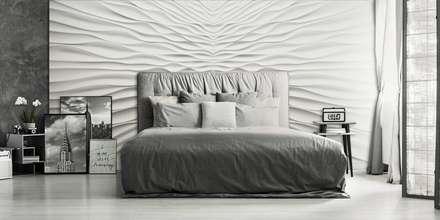 Modell Illusion   Wandverkleidung Aus Gips: Ausgefallene Schlafzimmer Von  Loft Design System Deutschland