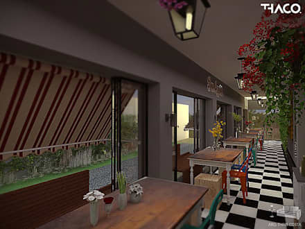 Quán bar & club by THACO. Arquitetura e Ambientes