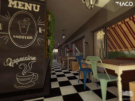 Nhà hàng by THACO. Arquitetura e Ambientes