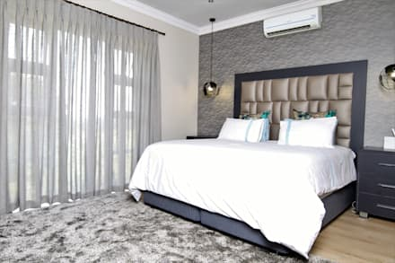 modern Bedroom by Motama Interiors and Exteriors
