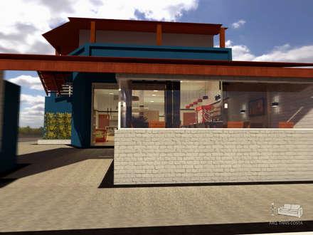 餐廳 by THACO. Arquitetura e Ambientes