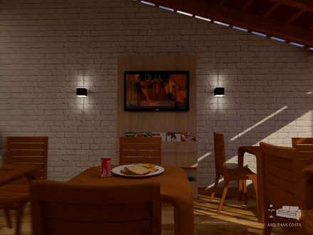 THACO. Arquitetura e Ambientes의  레스토랑