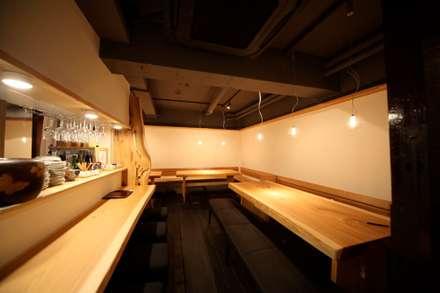 Espacios comerciales de estilo  por 株式会社高野設計工房