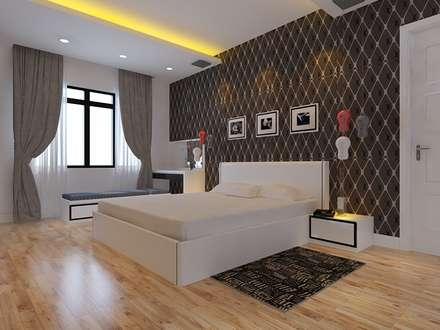 : mediterrane Schlafzimmer von laixaynhapho92