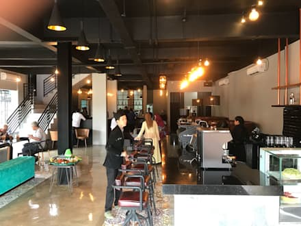 Restaurantes de estilo  por EDELIO - Edelweis Studio
