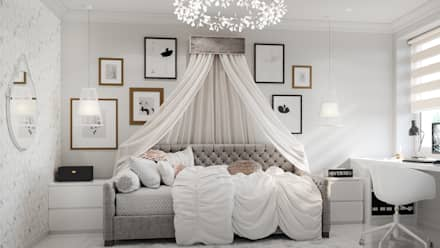 Girls Bedroom by IL design