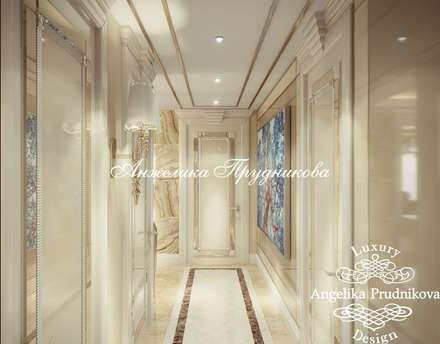 Дизайн-проект интерьера квартиры на Мальте в стиле ар-деко: Коридор и прихожая в . Автор – Дизайн-студия элитных интерьеров Анжелики Прудниковой