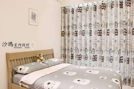 Habitaciones de bebé de estilo  de 沙瑪室內裝修有限公司