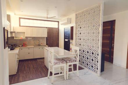 """""""Singaar"""": minimalistic Kitchen by Skywalk Designs"""