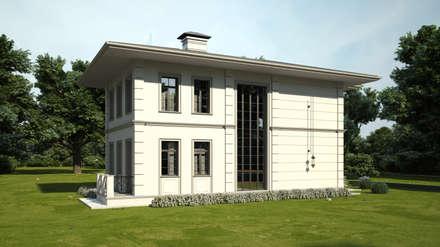 Классический проект коттеджа: Дома на одну семью в . Автор – IL design