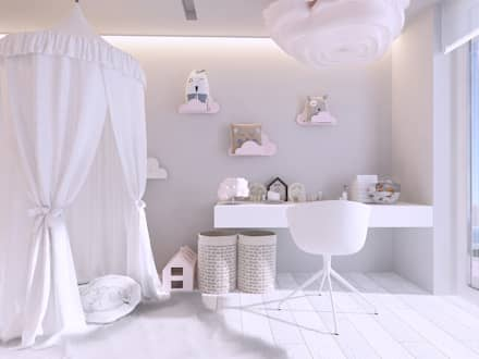 комнаты для новорожденных в . Автор – Mono architektura wnętrz Katowice