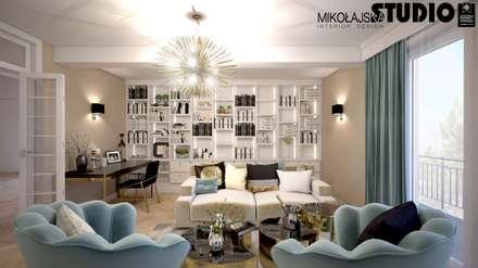 classic Study/office by MIKOŁAJSKAstudio