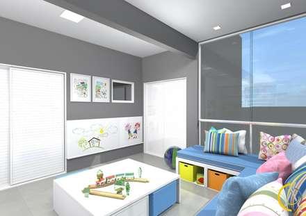 ห้องเด็กอ่อน by Arquiteta Carol Algodoal Arquitetura e Interiores