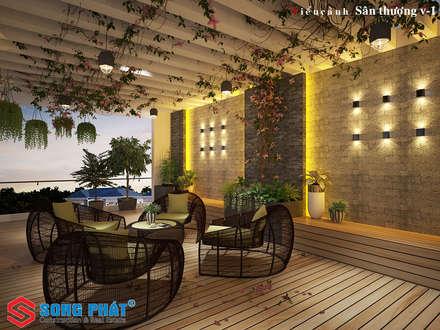 Bodegas de jardín de estilo  por laixaynhapho92