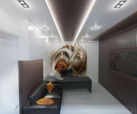 """Сabinet """"White & Brown"""": Рабочие кабинеты в . Автор – Tatiana Tretiakova - interior designer"""