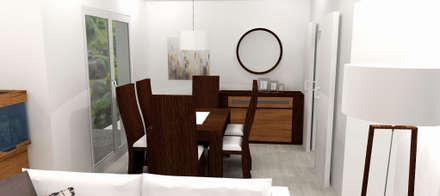 Cocina y salón-comedor: Comedores de estilo escandinavo de M2 Al Detalle