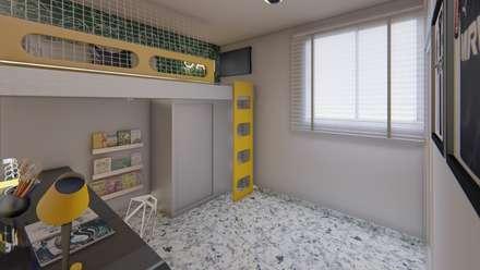 Teen bedroom by TRAIT ARQUITETURA E DESIGN
