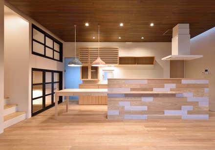 : scandinavian Kitchen by LSDdesign株式会社