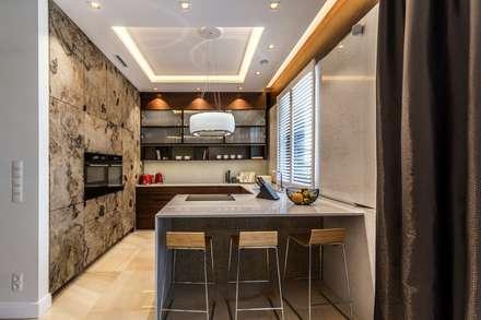 Einbauküche von Viva Design - projektowanie wnętrz