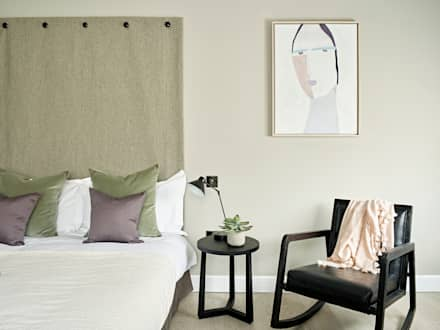 Guest room: industrial Bedroom by Tailored Living Interiors