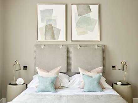 Master Bedroom headboard: industrial Bedroom by Tailored Living Interiors