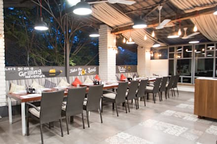 Interior Design Project - Barbecued by Orchard Image 8:  Gastronomy by Atom Interiors