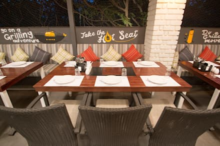 Interior Design Project - Barbecued by Orchard Image 11:  Gastronomy by Atom Interiors