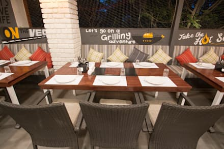 Interior Design Project - Barbecued by Orchard Image 12:  Gastronomy by Atom Interiors
