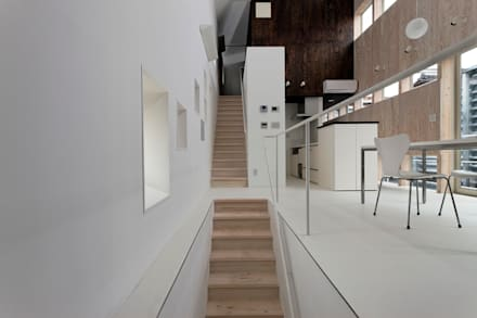 Stairs by 前田篤伸建築都市設計事務所