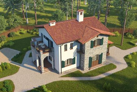 Country house by НБ_Частный Девелопмент