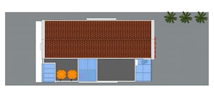MODE KARYA의  박공 지붕