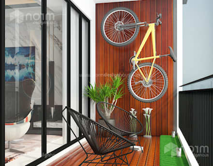 Residence 22, Mont Kiara: modern Garden by Norm designhaus