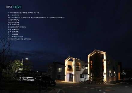 """울산혁신도시 단독주택  """"First Love"""": GN건축사사무소의  일세대용 주택"""