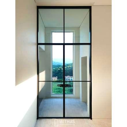 Portas de vidro  por WITHJIS(위드지스)