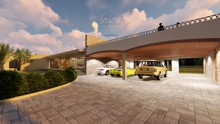 Double Garage by BOCA ARQUITECTOS