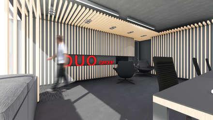 Sede Duo Group: Escritórios e Espaços de trabalho  por OGGOstudioarchitects, unipessoal lda