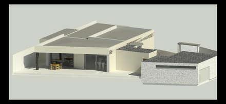 Vivienda Unifamiliar: Casas unifamilares de estilo  de JOCA CONSTRUCCIONES